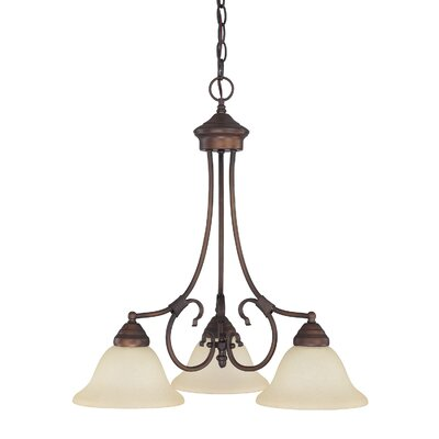 Hometown 3 Light Chandelier Product Photo