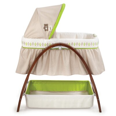 Bentwood Bassinet with Motion by Summer Infant
