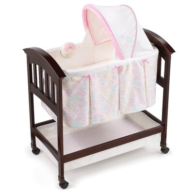 Classic Comfort Bedtime Blossom Wood Bassinet by Summer Infant