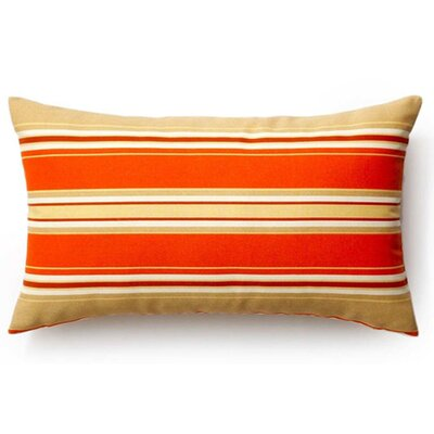 Thick Stripes Indoor/Outdoor Lumbar Pillow by Jiti