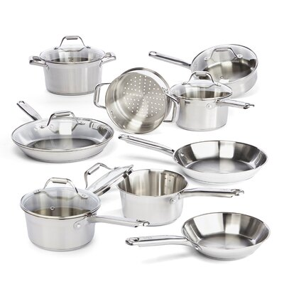 Elegance 15 Piece Cookware Set by T-fal