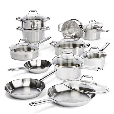 Elegance 18 Piece Cookware Set by T-fal