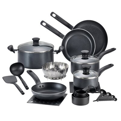 Initiatives 18 Piece Cookware Set by T-fal
