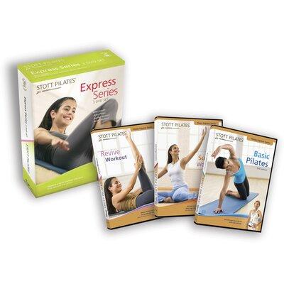 STOTT PILATES Express Series 3-Pack DVD Set