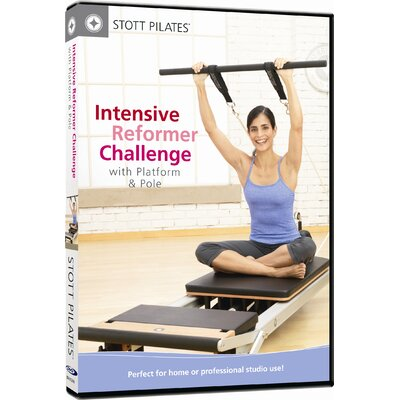 Intensive Reformer Challenge with Platform and Pole DVD by STOTT PILATES