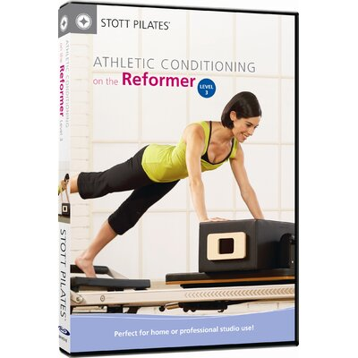 Athletic Conditioning on the Reformer Level 3 DVD by STOTT PILATES