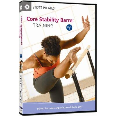 STOTT PILATES Core Stability Barre Training Level 2 DVD