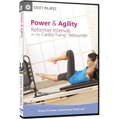STOTT PILATES Power and Agility Reformer Interval on Cardio Tramp Rebounder