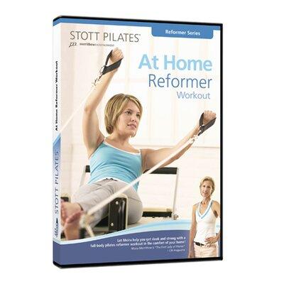 STOTT PILATES At Home Reformer Workout DVD