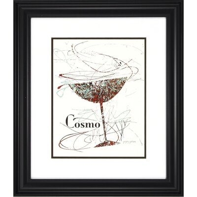 Happy Hour 2 Piece Motif Framed Graphic Art Set by Propac Images