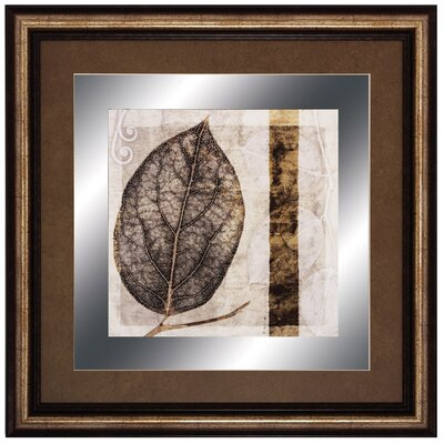 Propac Images Fall Leaves I Framed Graphic Art