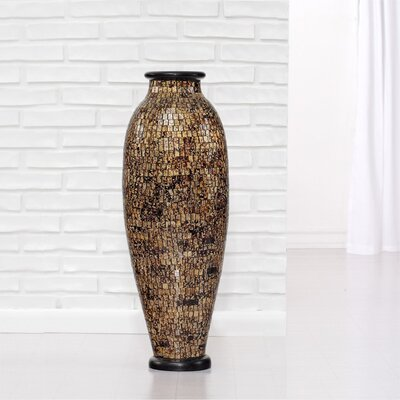Mosaic Floor Vase by PoliVaz