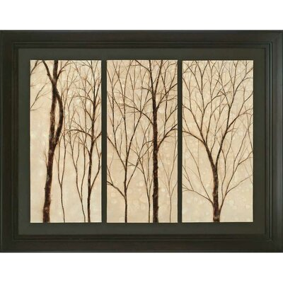 Graceful Trees Framed Original Painting by Paragon