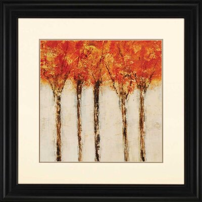 Fall Drive II by Maas Framed Painting Print by Paragon
