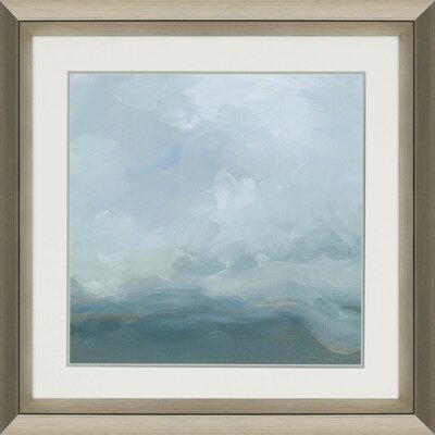 Mountain Mist II by Harper Framed Painting Print by Paragon