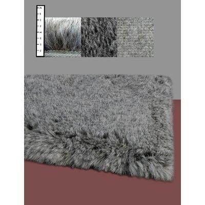 IXI Eros Faux Flokati Grey Area Rug
