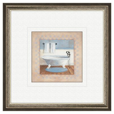 PTM Images Bath Country B Framed Painting Print
