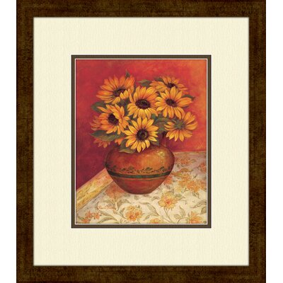 PTM Images Tuscan Sunflowers A Framed Painting Print