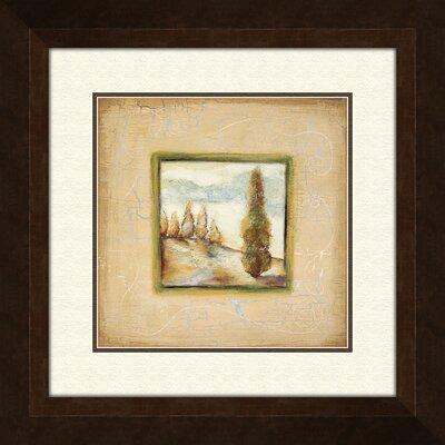 PTM Images Summer Light B Framed Painting Print