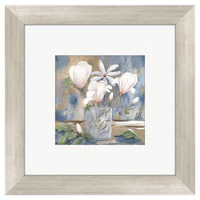 PTM Images Floral Cottage Roses Framed Painting Print