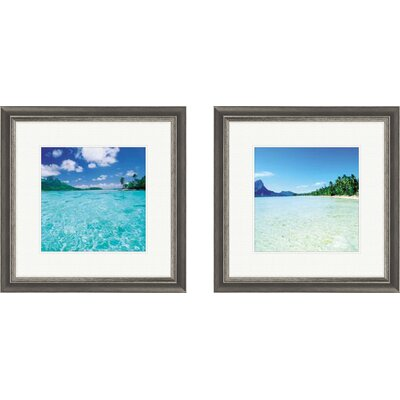 PTM Images Coastal Open Waters Framed Photographic Print