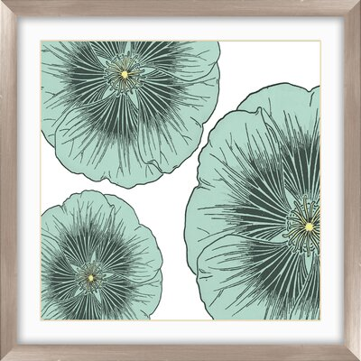 PTM Images Floral Graphic Art Shadow Box