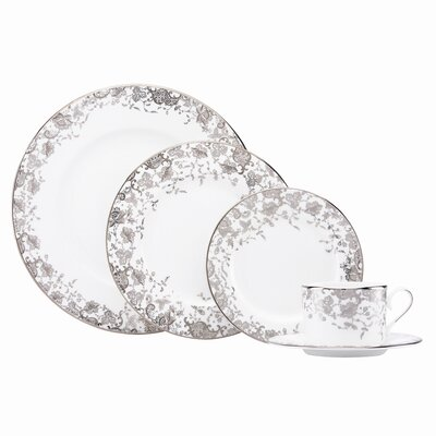 French Lace 5 Piece Place Setting by Marchesa by Lenox