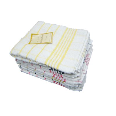 Textiles Plus Inc. Heavy Weight Check Kitchen Dish Towel