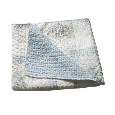 Trellis Cotton Throw by Textiles Plus Inc.