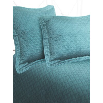 Textiles Plus Inc. Luxury Sateen Diamond Sham