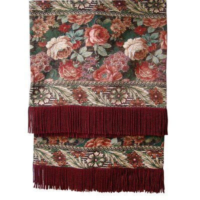 Royal Floral Tapestray Throw by Textiles Plus Inc.