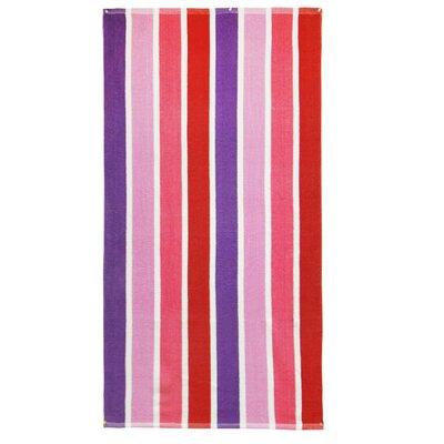 Textiles Plus Inc. Luxury Striped Terry Beach Towel