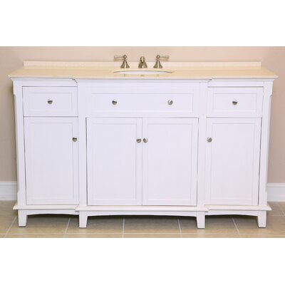 "Savannah 60"" Single Bathroom Vanity Set Product Photo"