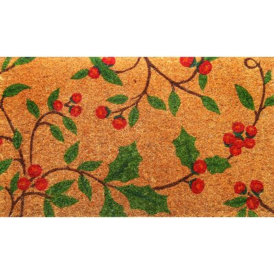 Imports Decor Woven Holly Princess Doormat