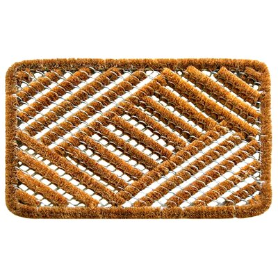Imports Decor Twisted Overlapping Cross Hatch Doormat