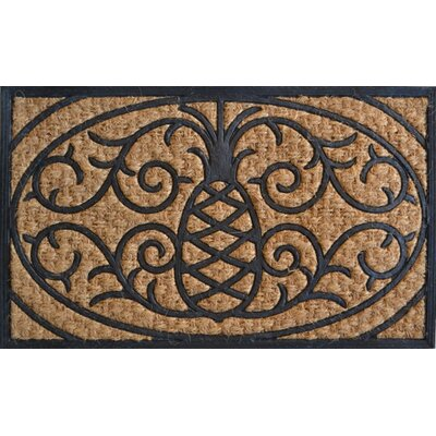 Imports Decor Molded Pineapple Doormat