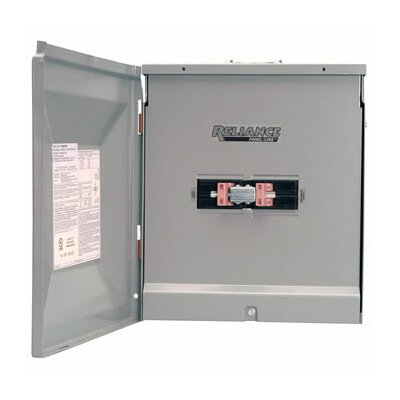 Reliance Controls  TCA1006DR Outdoor Transfer Panel - 100A and 60A Generator