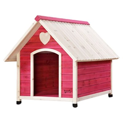 Pet Squeak Arf Frame Dog House in Pink