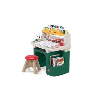 Step2 Art Master Activity Desk In Green Amp Reviews Wayfair