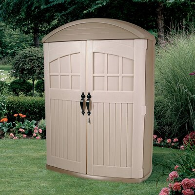 Step2 LifeScapes 4 Ft. W x 2 Ft. D Highboy Plastic Tool Shed