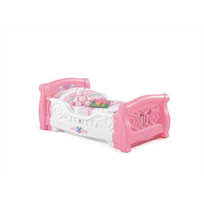 Girl's Toddler Sleigh Bed by Step2
