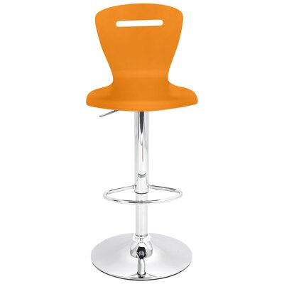 H2 Adjustable Height Swivel Bar Stool by LumiSource