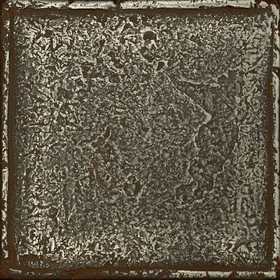 Daltile Metal Signatures Chateau Stone Glazed Field Tile in Aged Iron