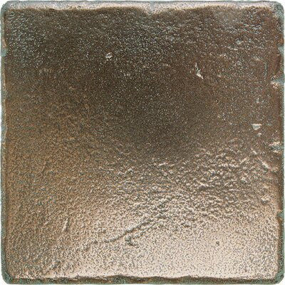 Daltile Metal Signatures Tumbled Stone Field Tile in Aged Bronze