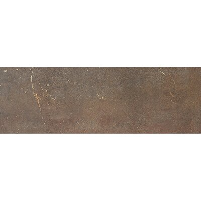 Fusion 8'' x 24'' Metal Field Tile in Bronzed Copper by Daltile