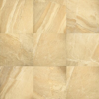 "Daltile Ayers Rock 20"" x 20"" Porcelain Field Tile in Golden Ground"