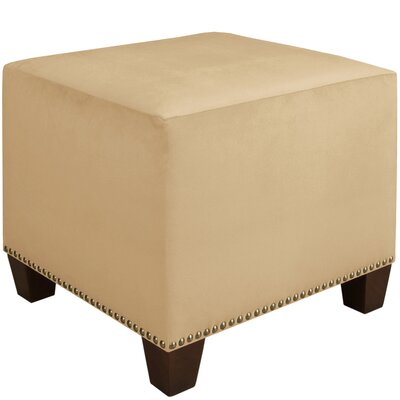 Skyline Furniture Velvet Ottoman