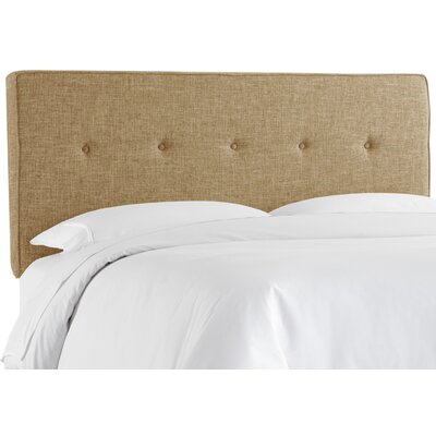 Tufted Polyester Upholstered Panel Headboard by Skyline Furniture