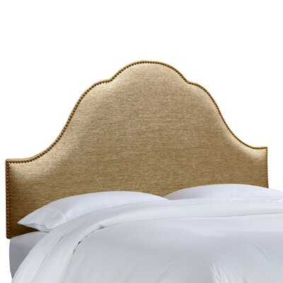 Skyline Furniture Glitz Nail Button Arch Upholstered Headboard