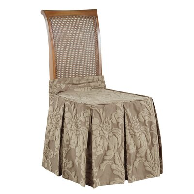 Matelasse Damask Chair Slipcover by Sure Fit